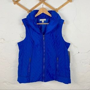 Laura Ashley NWT Quilted Vest